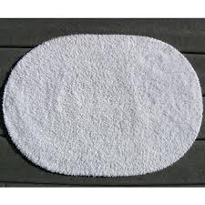 oval bath mat faze 3 reversible cotton oval bath rug white per case per each oval bath mat
