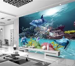 3d wall designs bedroom. Wonderful Bedroom Custom 3d Wallpaper Underwater World Photo Ocean Wall Murals Kids  Bedroom Livingroom Nursery Shop Wedding House Room Decor Dolphin Top Rated  Inside Designs L