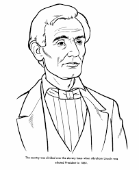 coloring pages of abraham lincoln 305 free printable coloring pages
