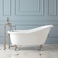 Erica Cast Iron Clawfoot Slipper Tub Ball  Claw Feet Bathroom - Clawfoot tub bathroom