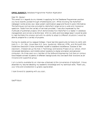 Cover Letter For Computer Science Job Cover Letter Science Evoo Tk