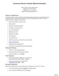 Resume For Customer Service In Grocery Store Resume For Study