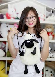 Balo hình chú cừu thông minh Giá chỉ 150.000 ₫