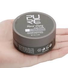 Purc Hair Clay Hubee ผลตภณฑจดแตงทรงผมสำหรบผชายจดแตงทรงผม Wax High Hold Barber Styling Pomade