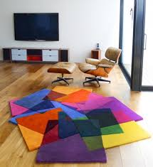 colorful rugs. Colorful Rugs By Sonya Winner: A Vibrant Sculptural Piece Of Floor S