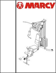 Marcy MP3100 Smith Machine U0026 Bench Exercise Guide By Marcy Platinum Bench