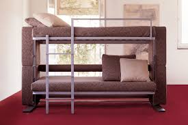 Maroon Living Room Furniture Awesome Convertible Sofa Bunk Bed Interior Design Ideas With Loft