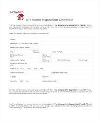 Home Inspection Checklist Template Diy Companydata Co