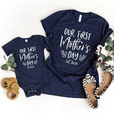 Mommy happy 1st mothers day svg, mothers day svg, first mothers day svg, mothers day onesie svg, mothers day baby svg, mommy and me svg the files were designed to be used with a cutting machine such as a cricut, silhouette and others. Our First Mother S Day Matching Shirts Mommy And Me Outfit First Mothers Day Mothers Day Shirts Mommy And Me Outfits