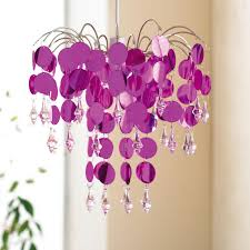 pink kids chandelier