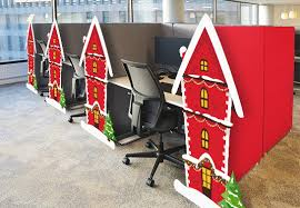 40 office holiday decorating ideas to