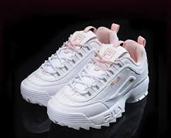 fila disruptor 2 pink. image is loading fila-disruptor-ii-2-women-pink-flamingo-shoes- fila disruptor 2 pink l