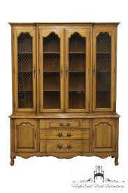 High End China Cabinets High End Used Furniture Thomasville Tableau Collection 62