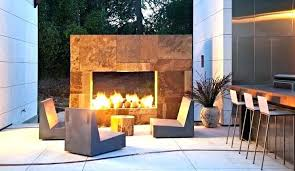 modern outdoor fireplace concrete fireplaces contemporary pla modern outdoor fireplace