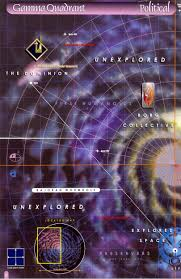Star Trek Star Charts Book In Star Trek What Is The Largest Empire Power In The Milky