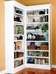 corner shelves furniture. I Never Thought About Putting Bookcases In A Corner Like This. Shelves Furniture