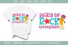 Hello kindergarten svg cut files. Ready To Rock Kindergarten Svg 289738 Svgs Design Bundles