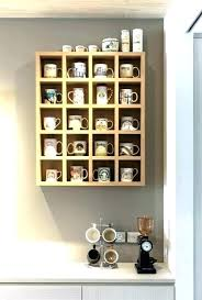mug rack wall coffee storage ideas projects craft how holder hangers cup racks mounted cups for mug wall storage