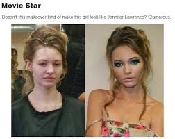 make yourself look older how things women wearing no makeup look totally diffe with makeup insanity