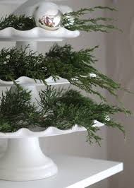 Pine Branches For Decoration Remodelaholic 30 Ways To Use Fresh Evergreen Boughs