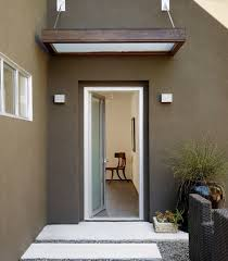front door awning ideasHouse Awnings  Canopies canopy and front door glass and wood