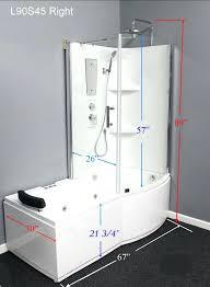 jacuzzi jets for bathtub interesting shower combo with shower pans and jets for bathtub jacuzzi bath