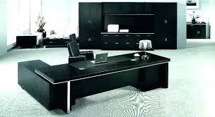 Office desks modern Table Office Furniture Desks Modern Black Desk Of Executive Luxury Reception Office Furniture Desks Modern Black Desk Of Executive Luxury Reception Overstock Decoration Office Furniture Desks Modern Black Desk Of Executive
