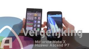 Motorola Moto X vs Huawei Ascend P7 review (Dutch) - YouTube