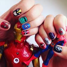 20 Avengers Nail Art Designs Ideas Design Trends Premium Psd