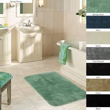 Sears Bathroom Accessories Bath Mats Bathroom Rugs Sears Colormate Textured Quick Dry Rug