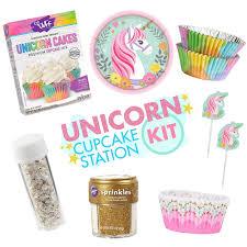 Unicorn Party Cupcake Station Kit Party City