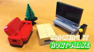 Lego Bedroom How To Make A Lego Modern Living Room Moc Basic Reupload Youtube