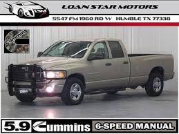 2004 Dodge Ram Pickup 2500 for sale in Humble, TX