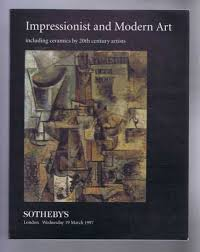 impressionist and modern art including ceramics by 20th century artists sotheby s london wednesday