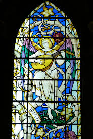 guitar window glass instrument religion church material stained glass angel faith symmetry ity image loud