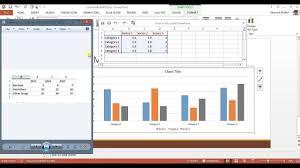 How To Insert Column Chart Bar Graph In Powerpoint