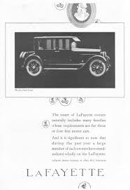 lafayette the four door coupe 1922 ad picture