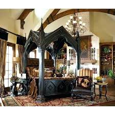 table Unique Wood Beds Hand Carved Teak Canopy Bed Google Search ...