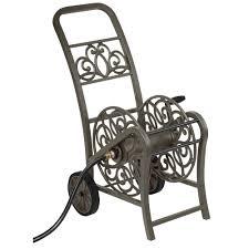 2 wheel hose reel cart