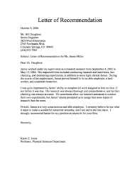 Referral Letter For Employment Recommendation Letter From Employer Employment Archives Save