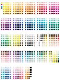 Pantone Coated Color Chart Pdf Pantone Color Chart Template 5 Free Templates In Pdf Word