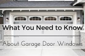 almost limitless number of diffe styles sizes and colors to suit any home s theme and one por option is the addition of garage door windows