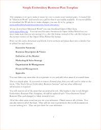 Business Plan Outline Template 24 Simple Business Plan Template Word Outline Templates 23