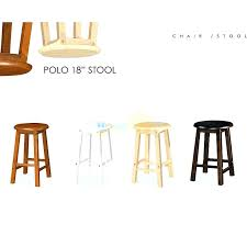 wood stool inch rounded wooden bar stool chair for coffee 18 inch stools 18 inch