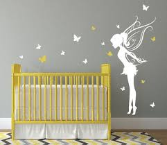 baby girl room decor fairy wall decal w
