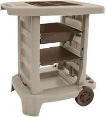 potting table bench portable outdoor patio garden yard gardening utility bin