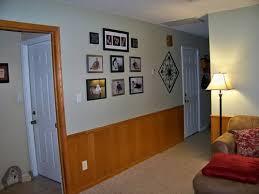 paint half paneled walls please help