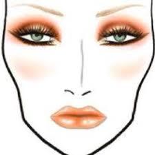 91 Best Makeup Face Chart Images Makeup Face Charts