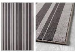 ikea gislev rug rug low pile mat runner carpet grey anti slip rubber back ikea gislev