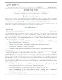 Sous Chef Resume Skills Best Sample Example Culinary Oliviajane Co